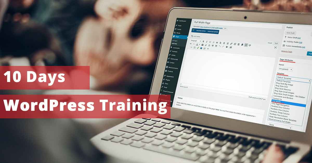 10 Days Advance WordPress Training